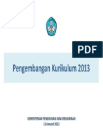 Pengembangan Kurikulum 2013 SEMARANG JTG(1)