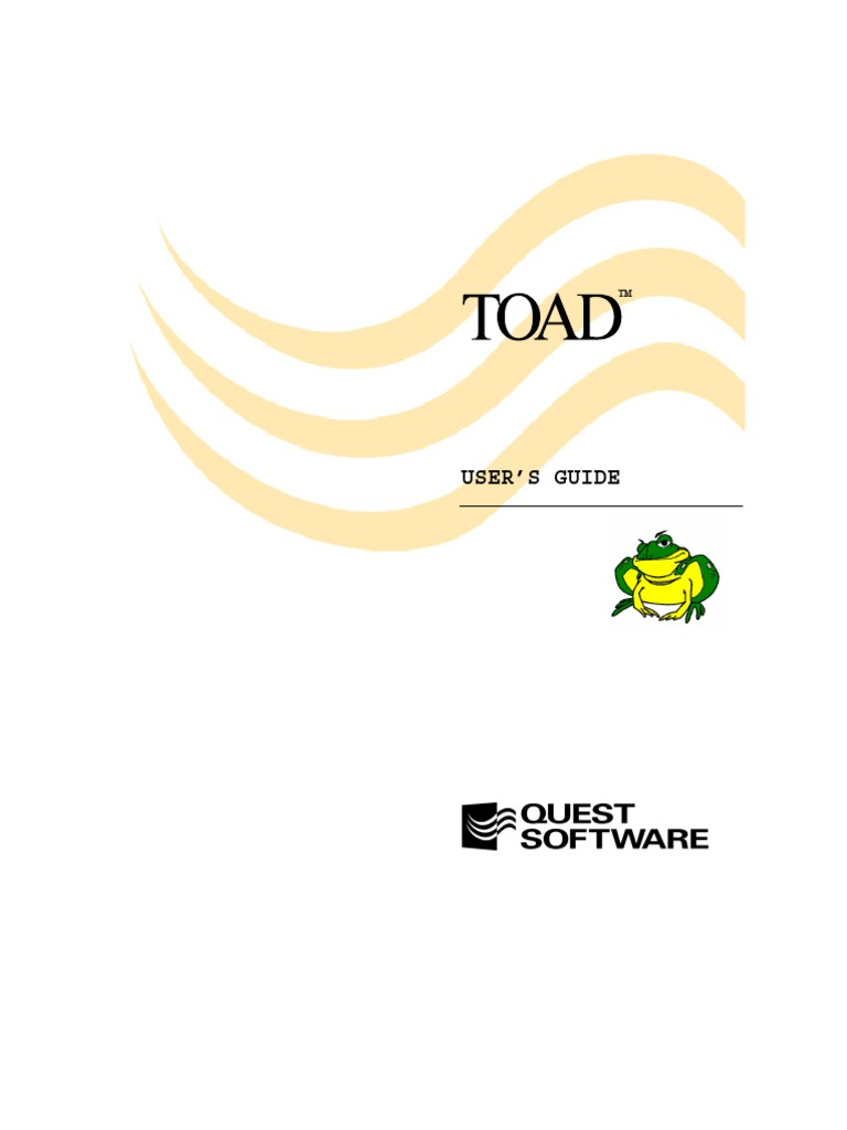 Toad users guide oracle database plsql baditri Choice Image