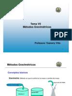 _Métodos gravimétricos