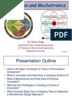Innovation and Mechatronics Slides
