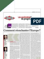 Débat Gauchet- Delors- Libération 26 juinj 2009