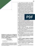 Asignación por Cargo de Director D.S. N° 227-2013-EF