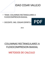 Columnas Rectangulares a Flexocompresion Biaxial