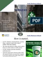 Starbucks Success