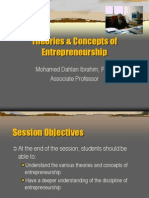 L3_Theories & Concepts of Entrepreneurship