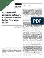 Daniel Chavez - Hacia la participación pasteurizada
