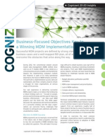 Business-Focused Objectives Key to a Winning MDM Implementation