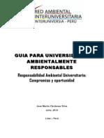 Guia Para Universidades Ambientalmente Responsables_julio 2013