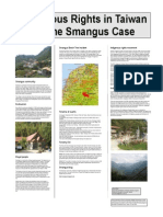 Indigenous Rights and the Smangus Case