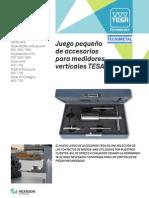 Set de accesorios para columna de alturas TESA ES.pdf