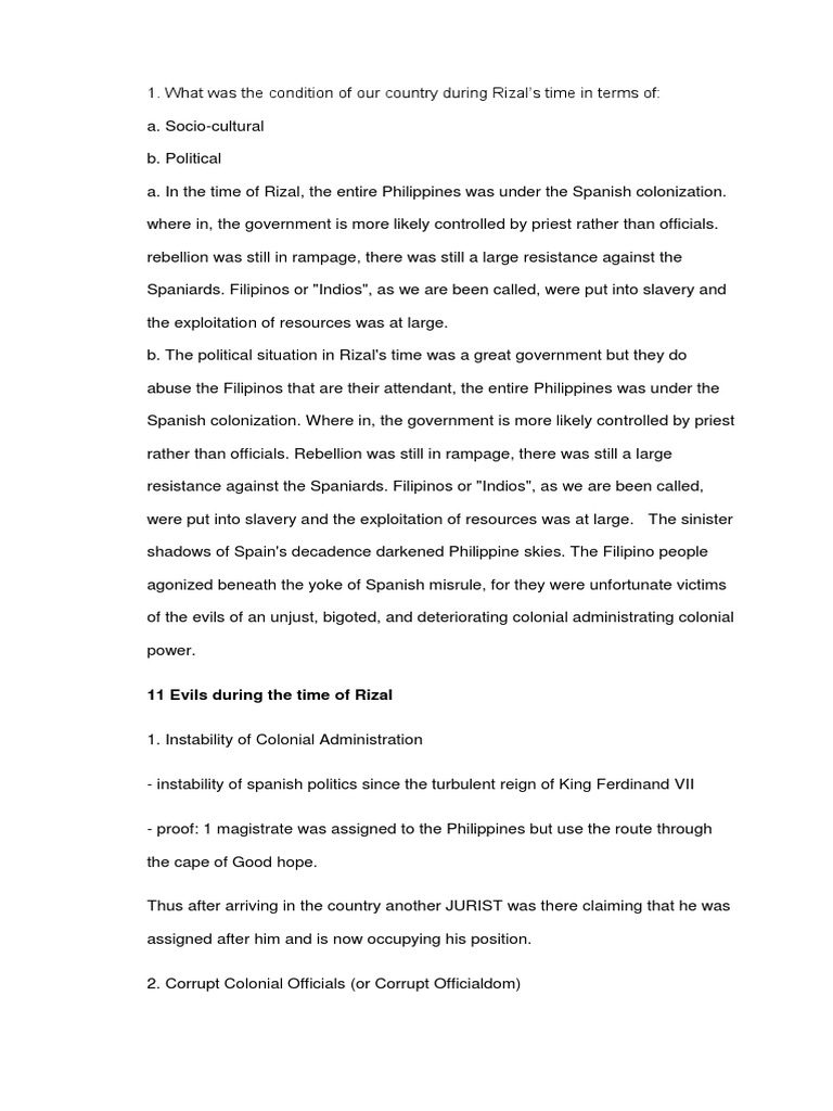 reaction paper about Rizal movie   RC SS  Reaction and Insight