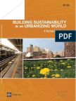 Building Sustainability in an Urbanizing World - WB 2013