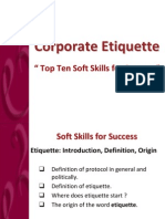 Top Ten Soft Skills for Success