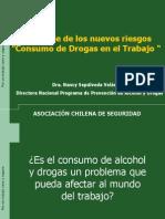 1er Estudio Alcohol y Drogas Laboral ACHS 2008