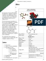 Ácido acetilsalicílico – Wikipédia, a enciclopédia livre