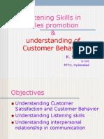 Understanding Customers