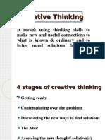 Ppt Creative Thinking