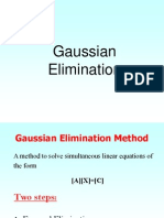 Guass Elimination