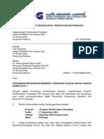 Surat Majlis Perasmian