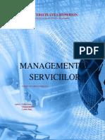 Managementul Serviciilor MAN