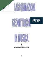 trasformazioni geometriche in musica