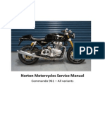 NORTON Commando 961 - Service Manual