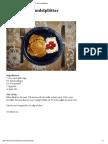 LCHF Recept - Kokos- och mandelplättar