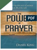 Daniel King The Power of Prayer