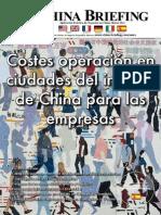 CB 2011 03 Es - Costes Operacion en Ciudades Del Interior de China Para Las Empresas