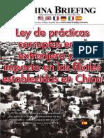 CB 2011 05 Es - Ley de Practicas Corruptas en El Extranjero y Su Impacto en Las Filiales Establecidas en China
