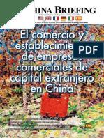 CB 2011 0708 Es - El comercio y establecimiento de empresas comerciales de capital extranjero en China