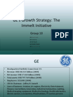 GEs Growth Strategy