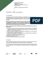 Gestão da Qualidade - ISO 9001 - 8ª sessão