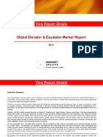 Global Escalator & Elevator Market Report