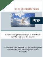 03 exposicion mariela  El Bautismo en el Espíritu Santo