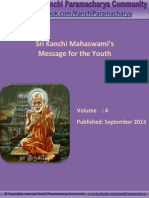 Kanchi Paramacharya Community - Message for Youth by Sri Kanchi Mahaswami - EBook # 4