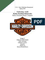 49185434 Harley Davidson Marketing Audit