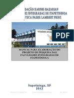 Manual para Elaboração do Projeto de Pesquisa das Faculdades Integradas de Itapetininga22222