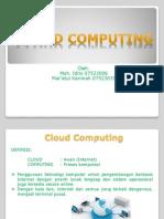Pengantar Cloud Computing