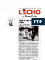 Presse 2007 Echo La Marseillaise
