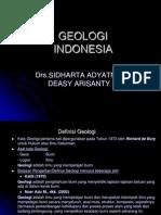 Geologi Indonesia