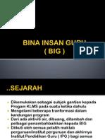 3.0 Kronologi Big
