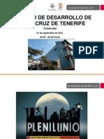 Programa Completo Plenilunio 2013 Santa Cruz de Tenerife
