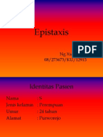 Refleksi Epistaxis