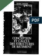 Conception et Calcul des Structures de Bâtiment_ Tome 3. ENPC Thonier