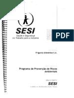 FRIGUMZ - Programa de Prevencao de Riscos Ambientais