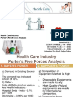 Health Care Industry Ppt Final