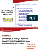 Definition and Concepts in Disaster Management
