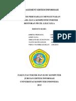 Analisis Perancangan Sistem Informasi