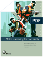 Project Labor Agreement and Construction Careers Policy Fact Sheet